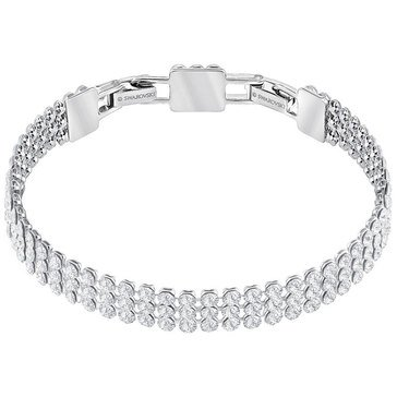 Swarovski Fit Refresh Bracelet, Rhodium Plated