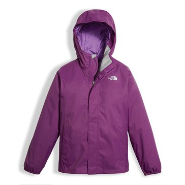 The North Face Big Girls' Resolve Rain Jacket, Wood Violet
