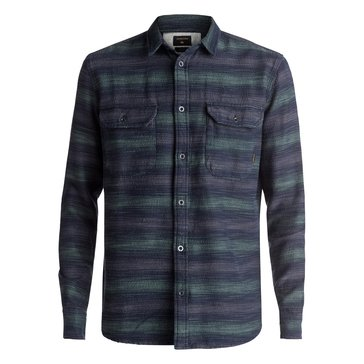 Quiksilver Men's Dusky Town Long Sleeve Flannel