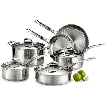 Lagostina Mar Stainless Steel 10-Piece Set