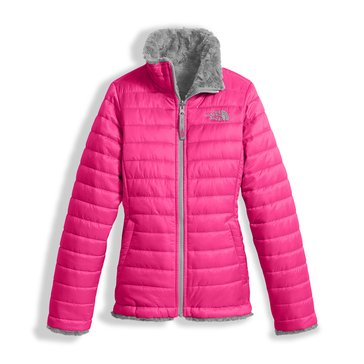 The North Face Girls' Mossbud Swirl Jacket, Petticoat Pink