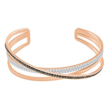 Swarovski Hero Cuff, Rose Gold Plated