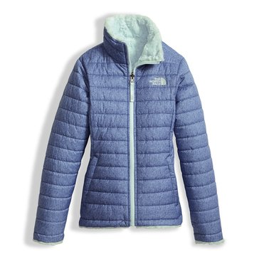 The North Face Big Girls' Mossbud Swirl Jacket, Navy