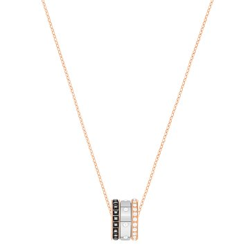 Swarovski Hint Pendant, Rose Gold Plated