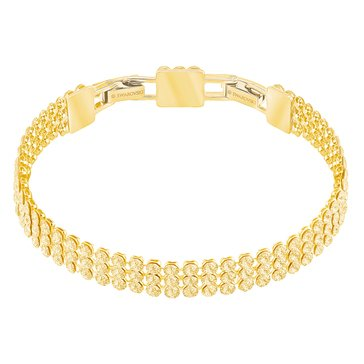 Swarovski Fit Bracelet, Gold Plating