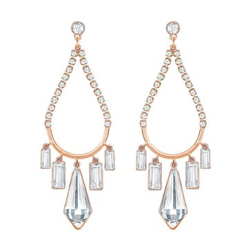 Swarovski Talina Earrings, Rose Gold Plated