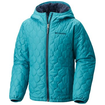 Columbia Big Girls' Bella Plush Jacket, Pacific Rim