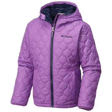 Columbia Big Girls' Bella Plush Jacket, Crown Jewel