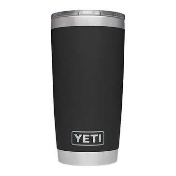YETI Rambler 20 Oz with MagSlider Lid - Black
