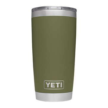 YETI Rambler 20 Oz with MagSlider Lid - Olive Green