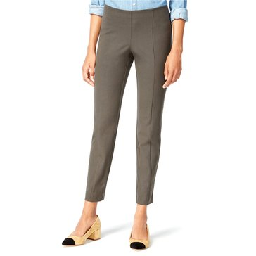 Maison Jules Pull on Bi-stretch Pant in Urban Olive