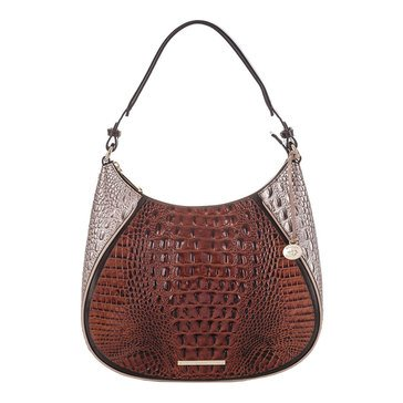 Brahmin Amira Shoulder Bag Pecan Antonia