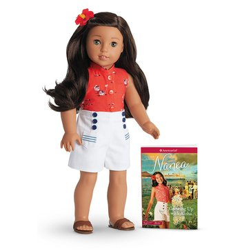 American Girl Nanea Mitchell Doll & Book