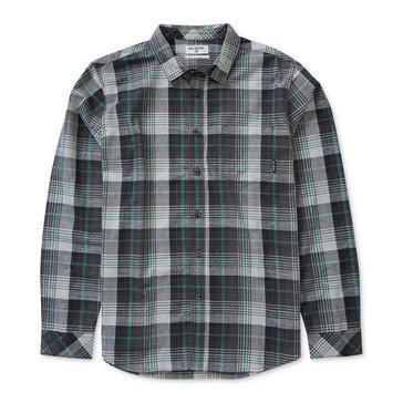 Billabong Men's Coastline Long Sleeve Flannel Plaid Shirt