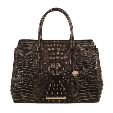 Brahmin Finley Carryall Satchel Ironwood Melbourne