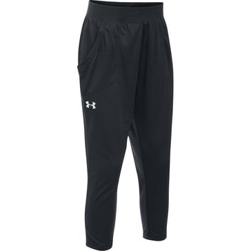 Under Armour Big Girls' Tech Capri, Black