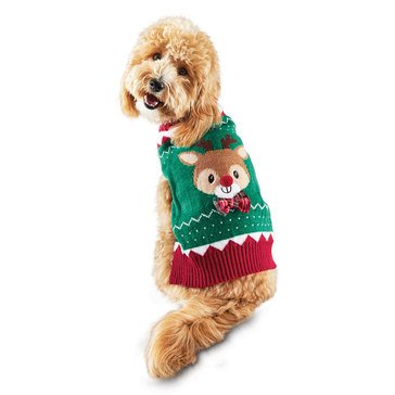 Reindeer Sweater, X-Small