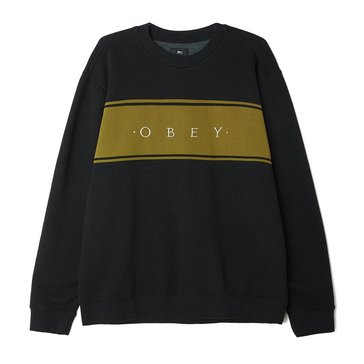 Obey Clothing Men's Roebling Crew Fleece