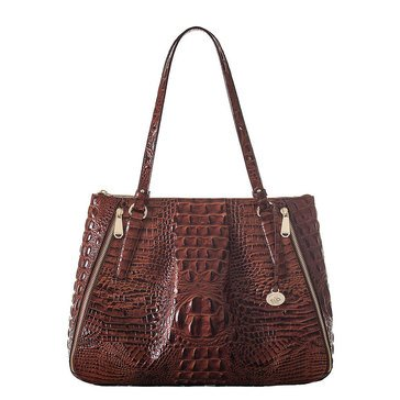 Brahmin Adina Shoulder Bag Pecan Melbourne