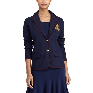 Lauren Ralph Lauren Alvarata Cotton Jacket in Navy