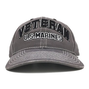 Black Ink Men's Veteran USMC Classic Hat