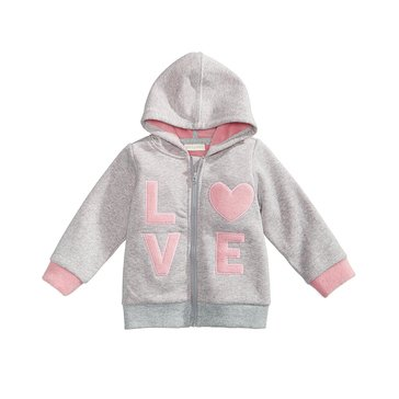 First Impressions Baby Girls' Love Hoodie