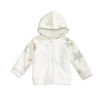 First Impressions Baby Girls' Stars Hoodie