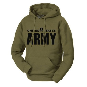 Black Ink Men's US Army Classic Hoodie