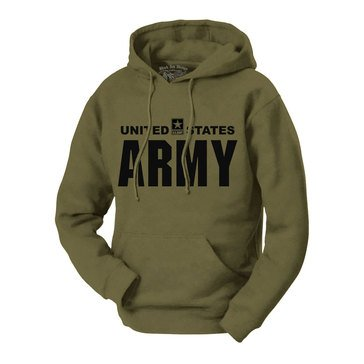 Black Ink Men's U.S. Army Classic Hoodie