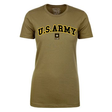 Black Ink Women's US Army Classic Short Sleeve Tee Extended Sizes