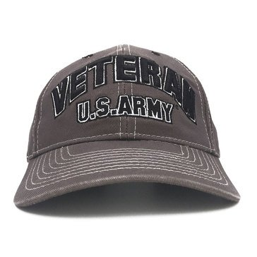 Black Ink Men's Army Veteran Classic Cap