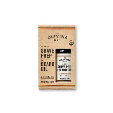 USDA Bourbon Cedar 2-In-1 Shave Prep & Beard Oil 2oz