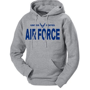 Black Ink Men's U.S. Air Force Classic Hoodie