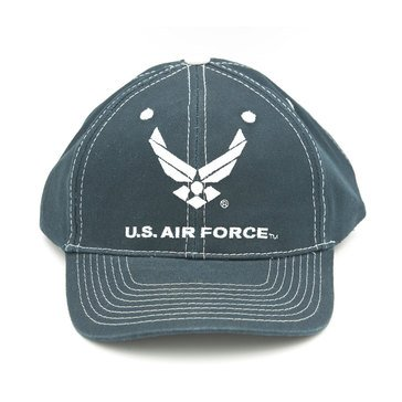 Black Ink Men's U.S. Air Force With Wings Classic Hat