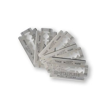 Double Edge Razor Blades Feather Stainless 5 Pack