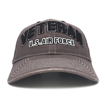 Black Ink Men's Veteran U.S. Air Force Classic Hat