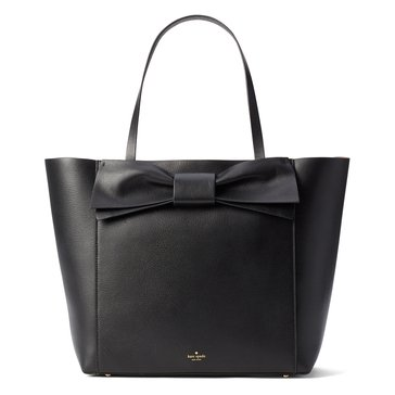 Web Exclusive! Kate Spade Olive Drive Savannah Tote Black