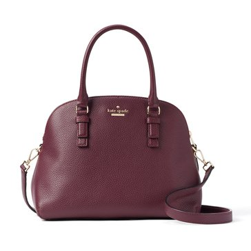 Web Exclusive! Kate Spade Jackson Street Lottie Satchel Plum