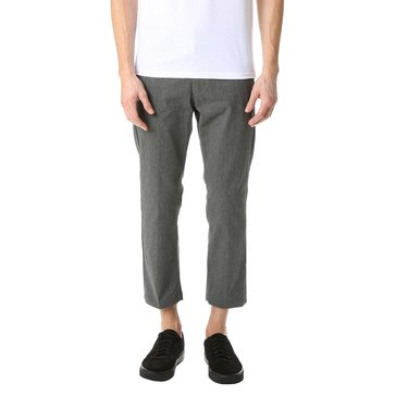 Obey Clothing Men's Straggler Flooded Twill Pant