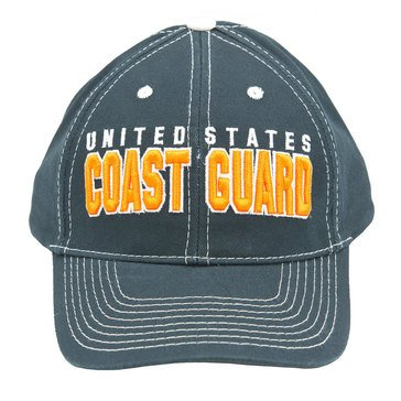 Black Ink Men's Coast Guard Classic Hat