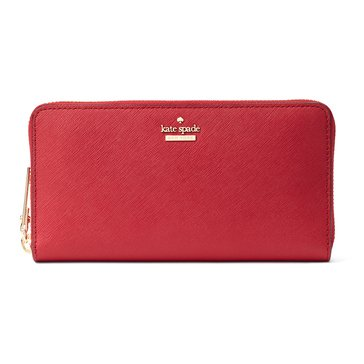 Web Exclusive! Kate Spade Cameron Street Lacey Wallet Rosso
