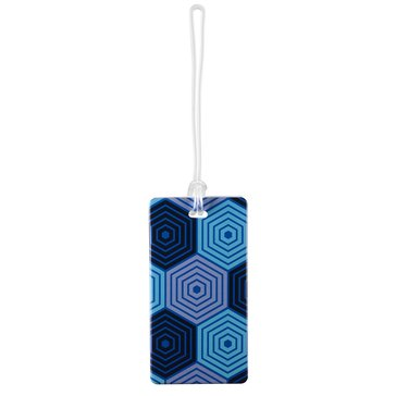 Lewis N. Clark Hex Luggage Tag - Blue