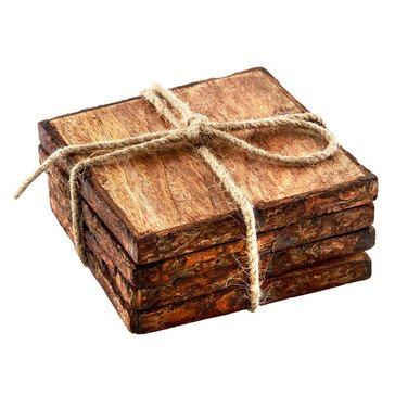 Thirstystone Bark Edged Coasters