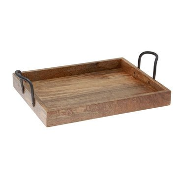 Thirstystone Rectangular Tray With Metal Handles