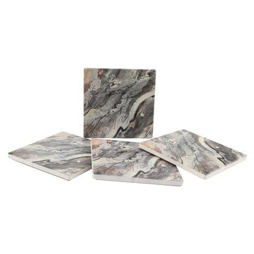 Thirstystone Mineral Coasters, Set of 4