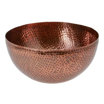 Thirstystone Hammered Copper Salad Bowl