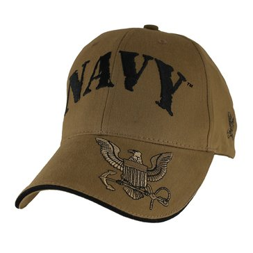 Eagle Crest Men's Extreme Embroidered Navy With Eagle On The Bill Cap