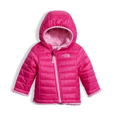 The North Face Baby Girls' Reversible Mossbud Swirl Hoodie