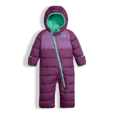 The North Face Baby Girls' Lil' Snuggler Down Suit