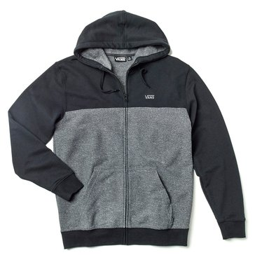 Vans Men's Show Block Full Zip Fleece Hoodie